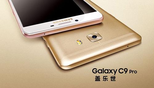 galaxy c9 pro: smartphone dau tien cua samsung co 6 gb ram - 1