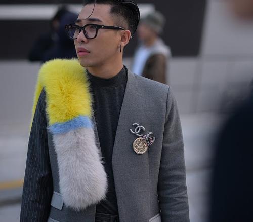 hoang ku chat lu den tung centimet di xem seoul fashion week 2016 - 5