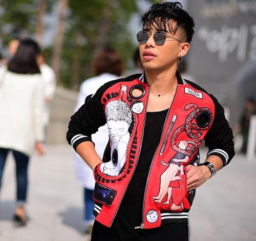 hoang ku chat lu den tung centimet di xem seoul fashion week 2016 - 8