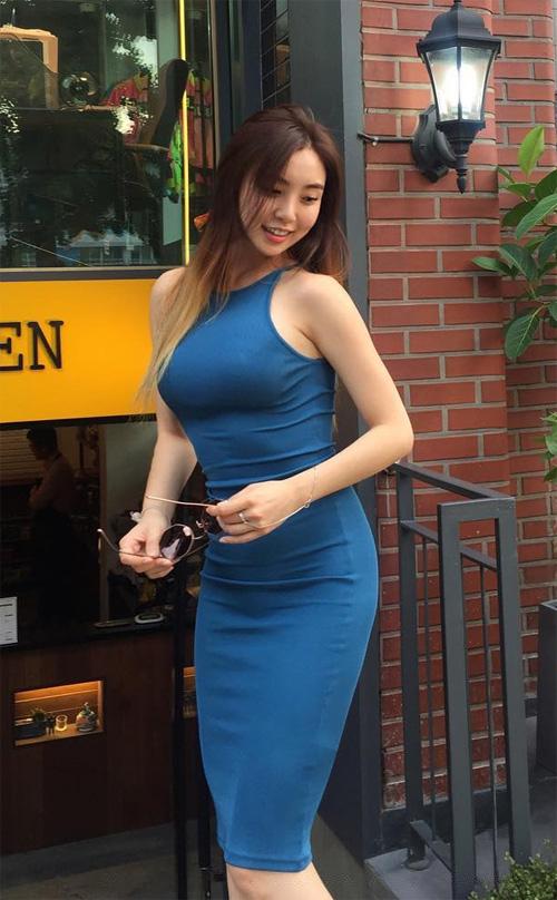body sexy, vong 1 cang day cua tan hoa hau han quoc dang gay sot - 5
