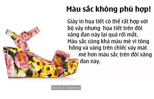 thu tai phoi do: chon giay hoan hao cho chiec vay sexy sang chanh - 1