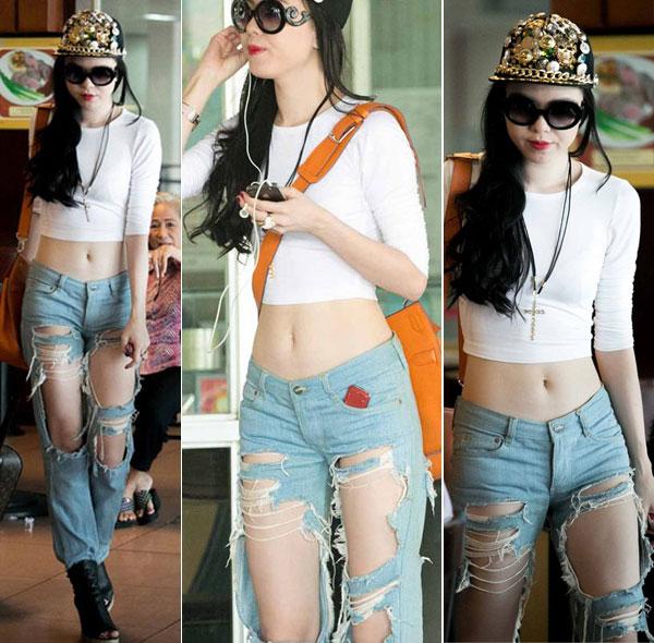 "nhung chiec quan jeans ""cho cung chang ai dam mac"" cua sao viet - 5"