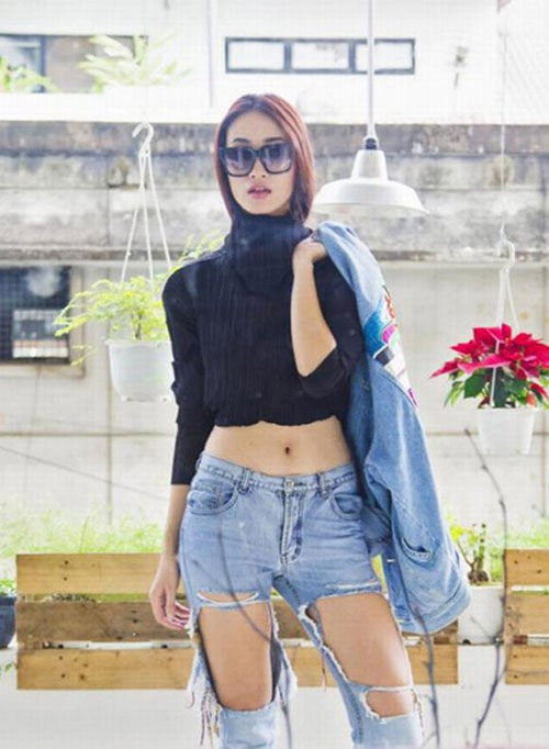 "nhung chiec quan jeans ""cho cung chang ai dam mac"" cua sao viet - 6"