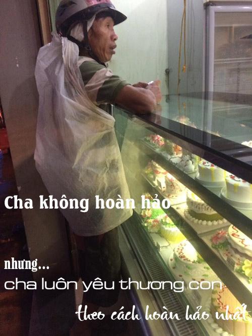nguoi cha ngheo mua banh sinh nhat cho con va hanh dong bat ngo cua co gai la - 2