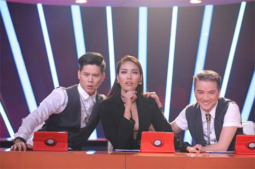 tv show: hoc tro dong nhi dang quang thuyet phuc; thi sinh ra ve vi... xin do an cua ban - 10