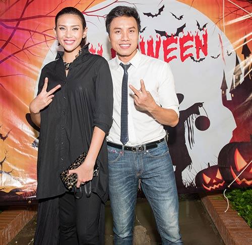 vo hoang yen, khanh ngan the face cuong nhiet dem halloween - 4