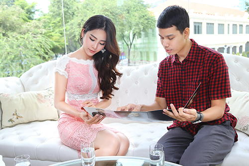 "nam em chay show ""khong kip tho"" sau hoa hau trai dat - 3"