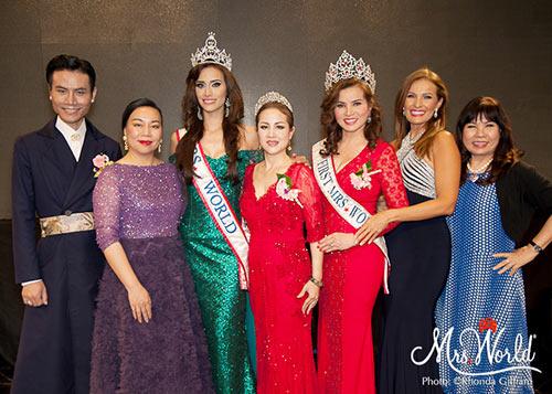hoa hau kim hong tang non la va hoa sen cho tan mrs world 2016 - 12