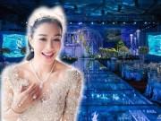 Làng sao - Loạt ảnh hậu trường long lanh như pha lê trong đám cưới lần 3 của Chung Lệ Đề