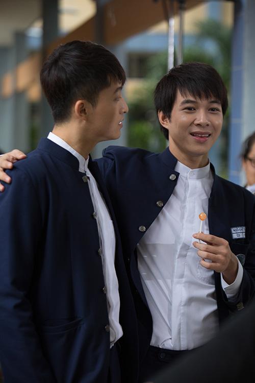 """bui anh tuan dep lan at harry lu trong mv phim """"4 nam, 2 chang, 1 tinh yeu"""" - 2"""