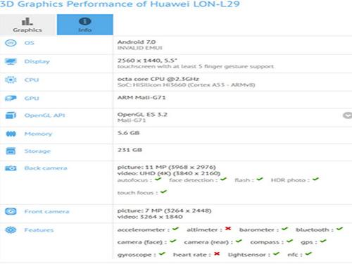 ro ri huawei p10 qua thu nghiem benchmark gfxbench - 1