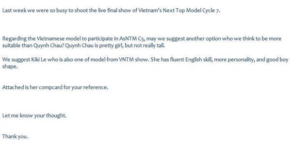 xuan lan va thi sinh cu to cao vietnam's next top model thieu minh bach - 3