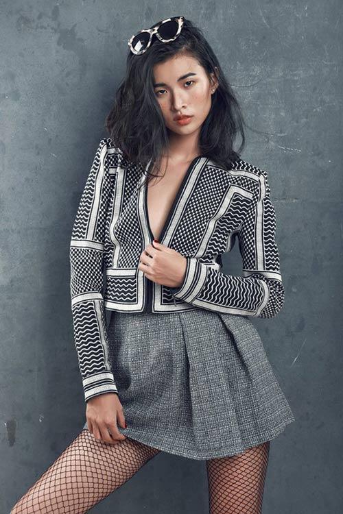 xuan lan va thi sinh cu to cao vietnam's next top model thieu minh bach - 4