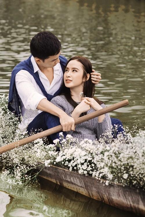 angela phuong trinh cung vo canh dam say, lang man tren thuyen tinh - 2