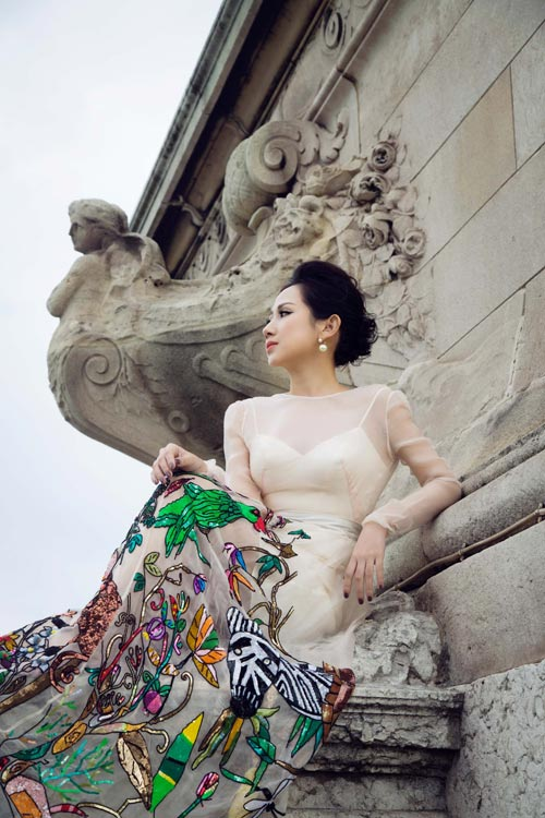 Bí quyết giúp nữ fashionsta Trâm Nguyễn tỏa sáng giữa kinh đô thời trang Paris-6