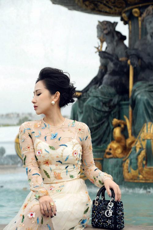 Bí quyết giúp nữ fashionsta Trâm Nguyễn tỏa sáng giữa kinh đô thời trang Paris-7