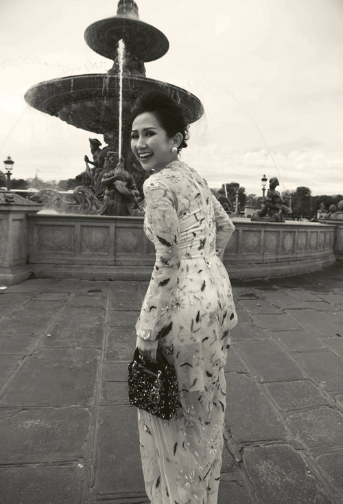 Bí quyết giúp nữ fashionsta Trâm Nguyễn tỏa sáng giữa kinh đô thời trang Paris-9