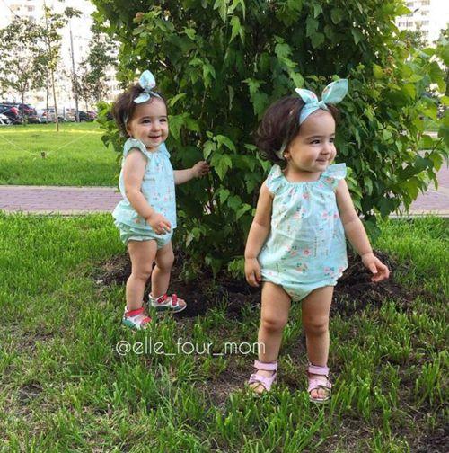 """Ngắm 3 cặp bé gái sinh đôi đẹp như thiên thần từng khiến dân mạng """"chao đảo"""" - 13"""
