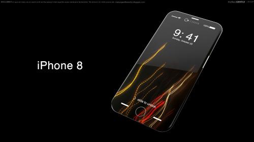 iphone 8 va samsung galaxy s8 deu se co man hinh cong - 2