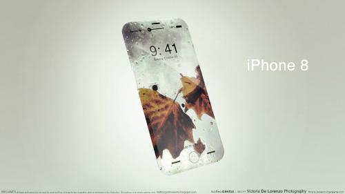 iphone 8 va samsung galaxy s8 deu se co man hinh cong - 1