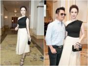 Làng sao - Angela Phương Trinh được Bằng Kiều ôm eo thân mật trong sự kiện