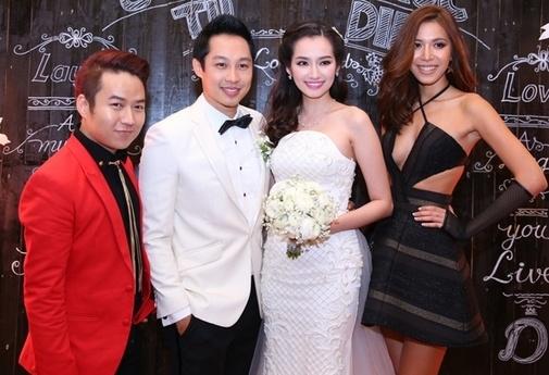 Mặc nổi bật hơn cả cô dâu, nhiều sao Việt bị chỉ trích vì chơi trội khi đi đám cưới - 7