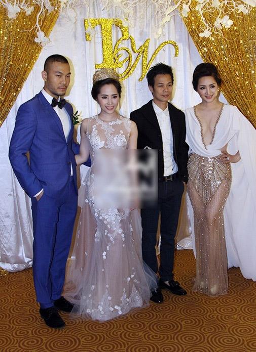Mặc nổi bật hơn cả cô dâu, nhiều sao Việt bị chỉ trích vì chơi trội khi đi đám cưới - 4