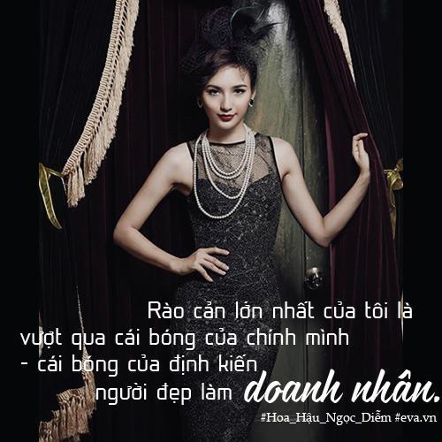 """hoa hau ngoc diem: """"phu nu lanh dao khong thua dan ong"""" - 2"""