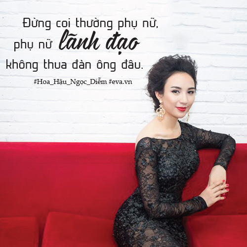 """hoa hau ngoc diem: """"phu nu lanh dao khong thua dan ong"""" - 5"""