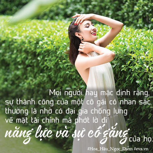 """hoa hau ngoc diem: """"phu nu lanh dao khong thua dan ong"""" - 1"""