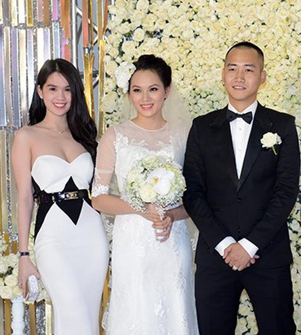 Mặc nổi bật hơn cả cô dâu, nhiều sao Việt bị chỉ trích vì chơi trội khi đi đám cưới - 9