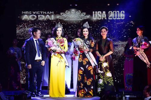 valencia tran boi thu giai thuong tai mrs vietnam aodai in usa 2016 - 1