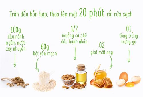 """3 cong thuc cham soc da """"than toc"""" tu dau nanh - 2"""