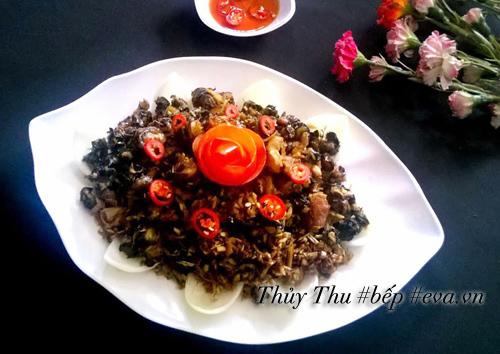 bua com hap dan them chay nuoc mieng - 2