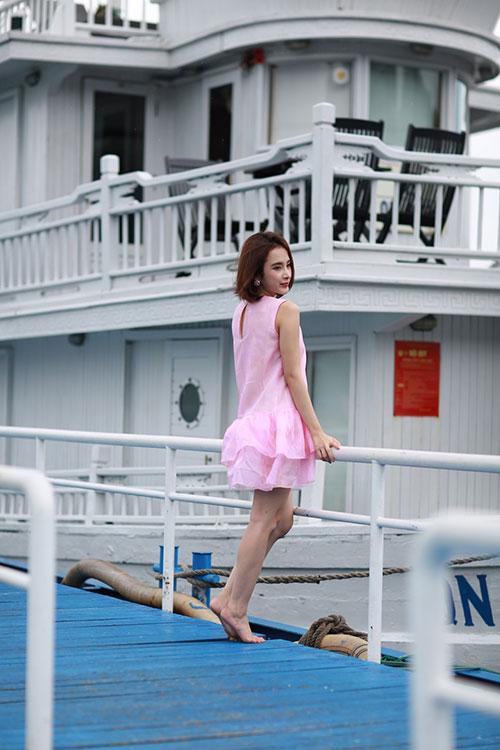 angela phuong trinh khoe dang nuot na tren du thuyen trieu do - 6