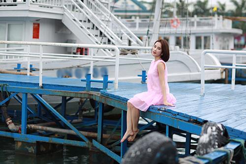 angela phuong trinh khoe dang nuot na tren du thuyen trieu do - 7