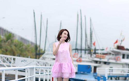 angela phuong trinh khoe dang nuot na tren du thuyen trieu do - 9