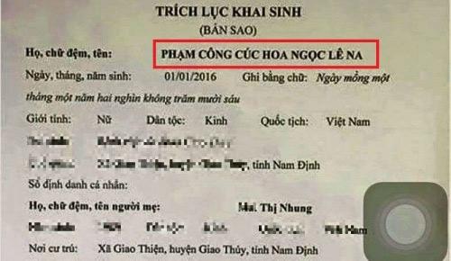 """cuoi dau bung voi nhung kieu dat ten con cua nhung ong bo ba me viet """"vui tinh"""" - 6"""