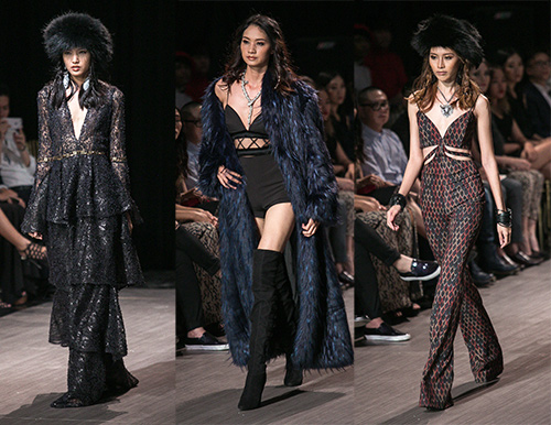 lan khue nhuong vedette cho hoang thuy de catwalk lanh lung the nay day - 6