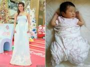 """Làng sao - Sau 3 tháng sinh con, """"Chị Cả TVB"""" Chung Gia Hân mảnh mai đáng ngưỡng mộ"""