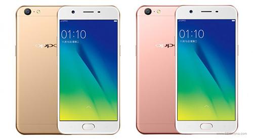 """Oppo tung smartphone A57 giá rẻ với camera """"tự sướng"""" 13 MP-1"""