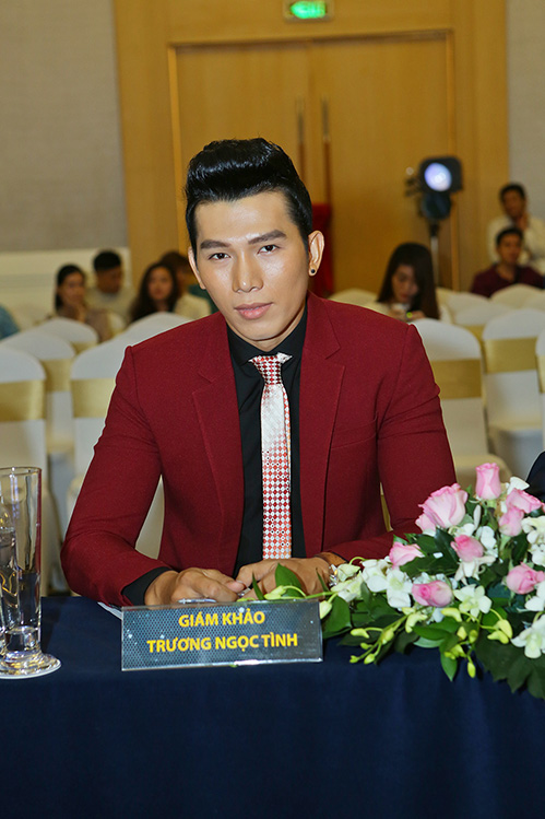 """kim nguyen dep hoan hao tren ghe giam khao, """"thach thuc"""" dan sao viet - 13"""