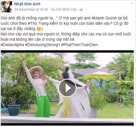 """Các bà mẹ Việt phát sốt với """"Vợ người ta"""" của Thu Trang - Mạnh Quỳnh-4"""