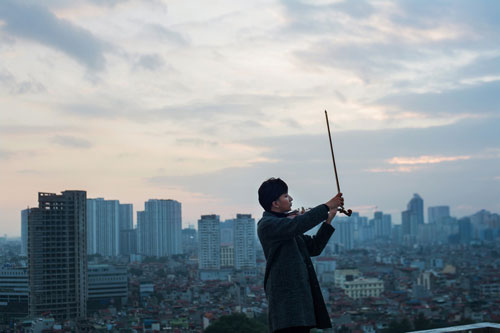 """hoang rob se """"lam moi"""" ha tran va thu phuong voi tieng dan violin - 8"""