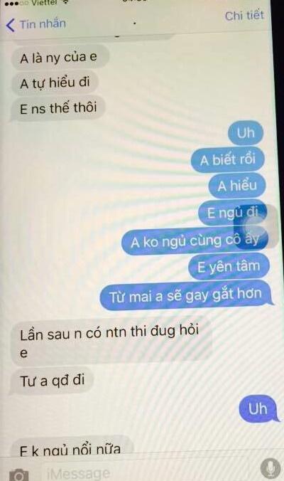 chong khum num nhan tin xin phep bo cho duoc nam cung vo gay phan no mxh - 5
