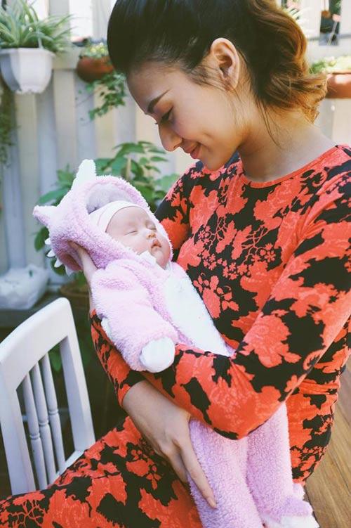 3 my nhan viet vua sinh con nam 2016: ke lung linh, nguoi xuong sac - 9