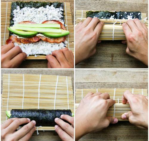 Làm sushi cuộn quả bơ tươi ngon, lạ miệng với vài bước đơn giản-4
