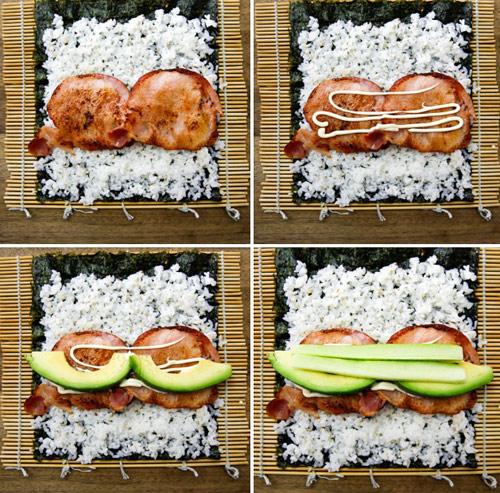 Làm sushi cuộn quả bơ tươi ngon, lạ miệng với vài bước đơn giản-3