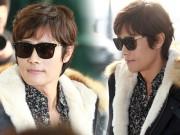 Làng sao - Vợ Lee Byung Hun không xuất hiện bên chồng tại sân bay khi tới dự MAMA