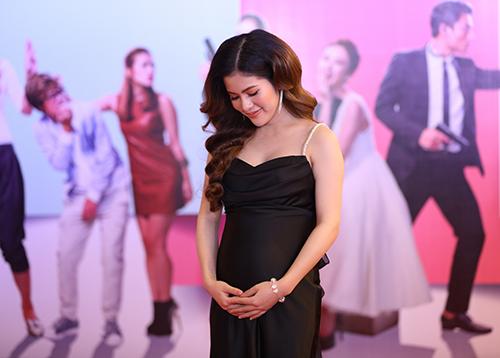 """Bạn gái Việt Anh """"Chạy án"""" khệ nệ vác bụng bầu 6 tháng đi sự kiện-5"""